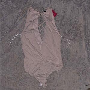 NBW Cream Bodysuit